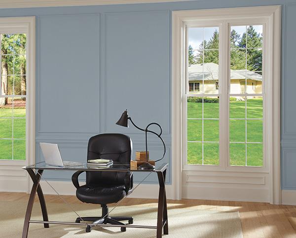 American classic double hung window